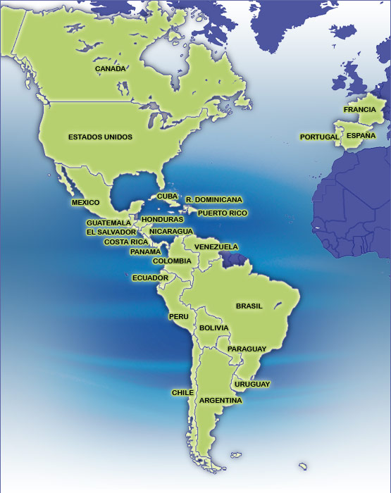 Paraguay Map South America